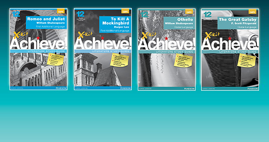 X-kit Achieve Literature Study Guides