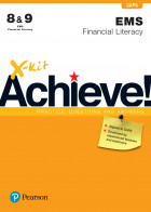 X-kit Achieve Grade 8-9 EMS Financial Literacy Practice Book